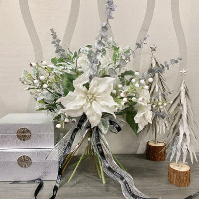 Silver Hand-tied Display