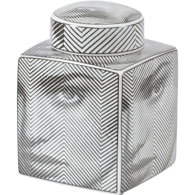 Libra Small Fornasetti Style Porcelain Face Jar