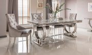 Silver Belvedere Dining Chair
