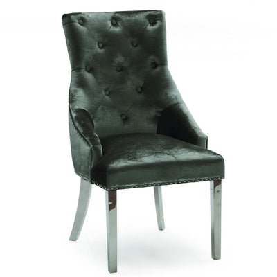 Charcoal Belvedere Dining Chair