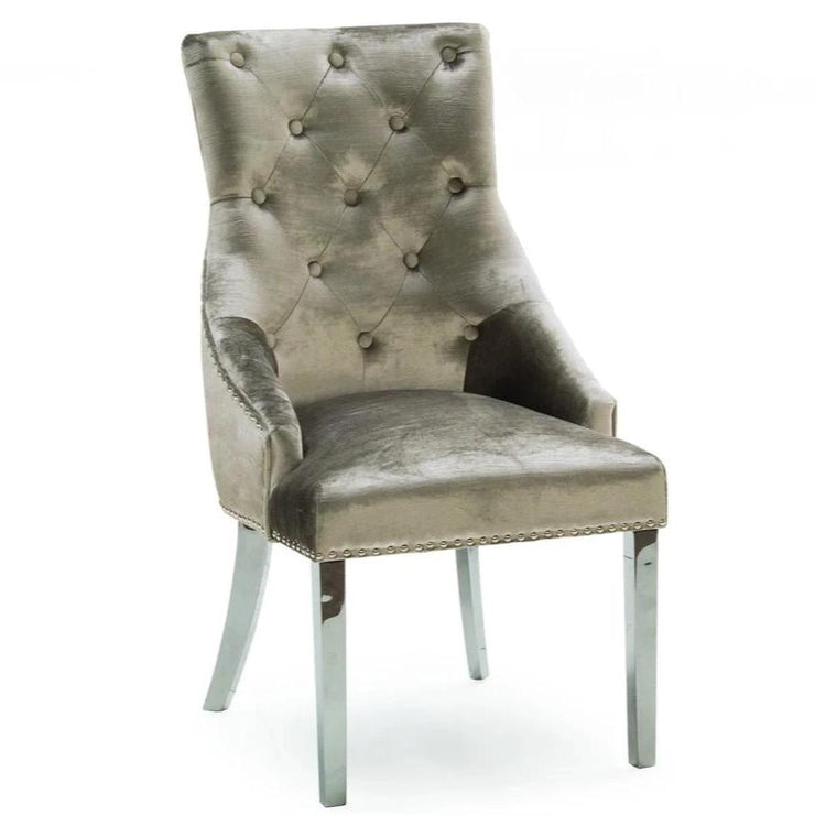 Champagne Belvedere Dining Chair