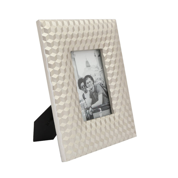 Embossed Cube Photo Frame