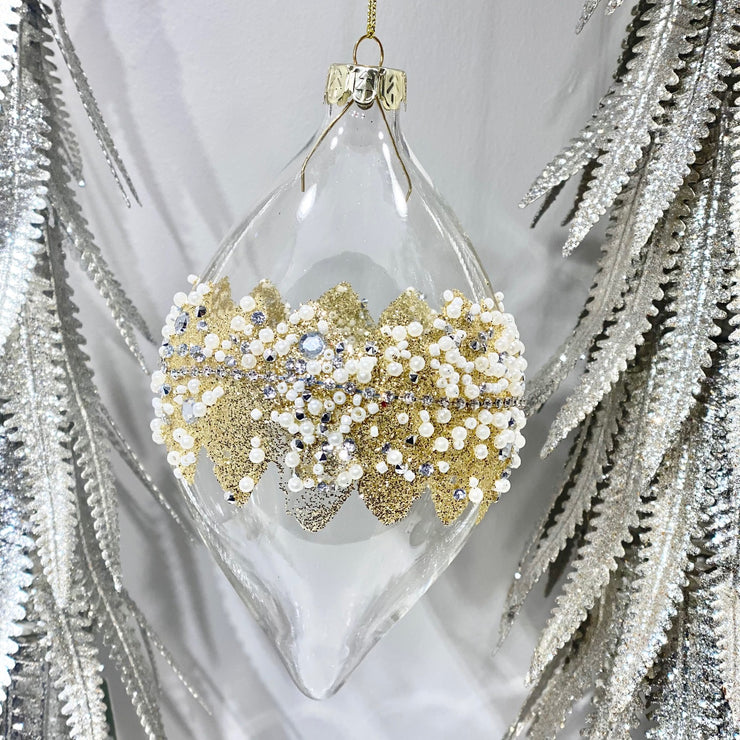 Gold Glitter Bauble