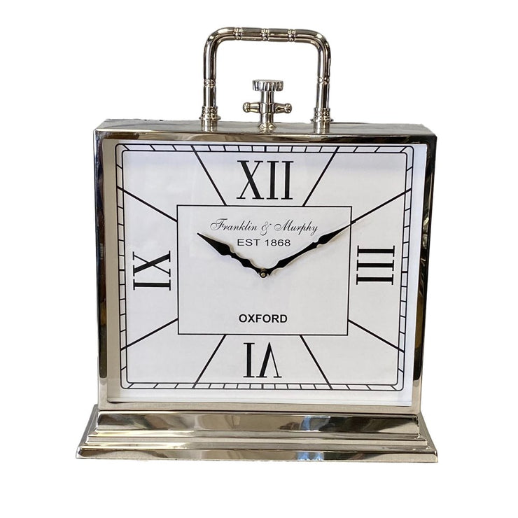 Frankin Large White Face Clock