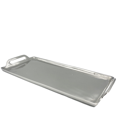 Silver Metal Tray (2 sizes)