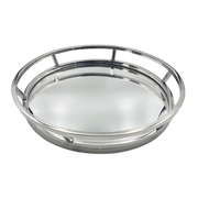 Classic Mirrored Round Tray