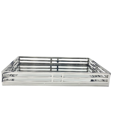Rectangle Mirrored Tray