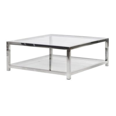 Steel & Glass Coffee Table