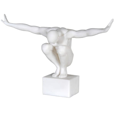 Olympic Man With Outstretched Arms