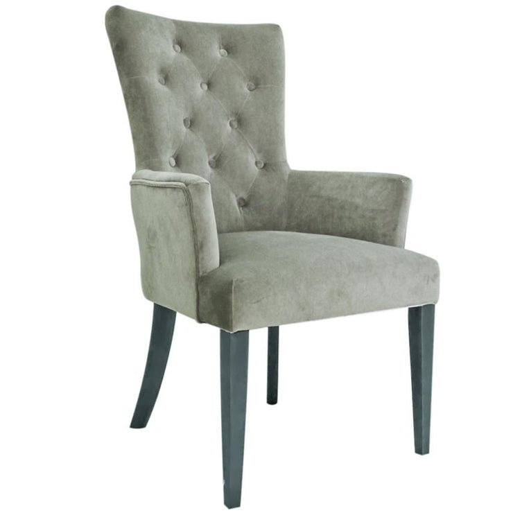 Taupe Penny Carver Dining Chair