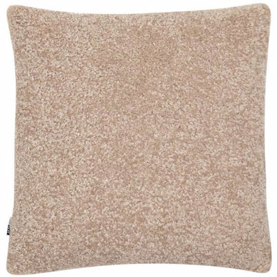 Tactile Faux Lambswool Cushion - Grey