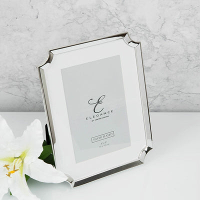 Silver Plated Scallop Frame