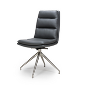 Nobo Swivel Brushed Chair