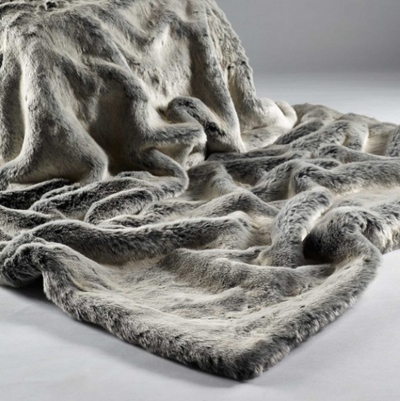 Alaska Fox Fur Throw