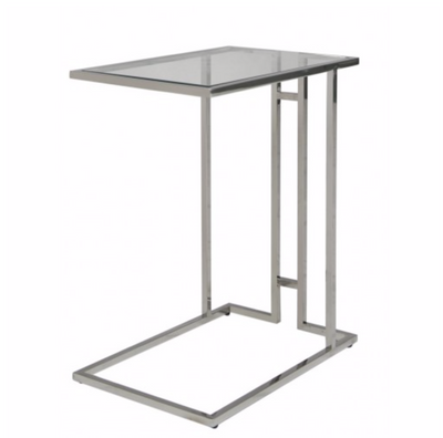Harriett Stainless Steel Sofa Table
