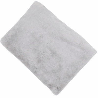 Cocoon Faux Fur Throw - Silver