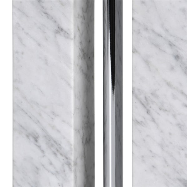 Marble Effect Column Lamp