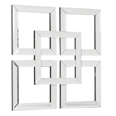 Square Mirrored Wall Art