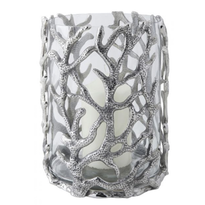 Culinary Concepts Coral Hurricane Lantern