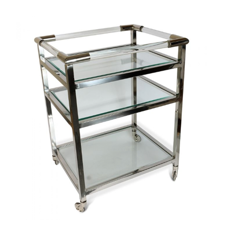 Culinary Concepts Art Deco Drinks Trolley