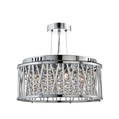 Elisa Chrome Ceiling Light