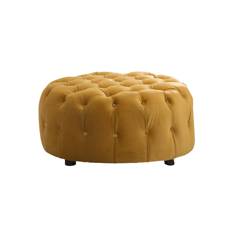 Danby Buttoned Footstool