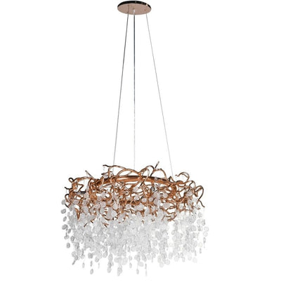 Twiggy Gold Chandelier