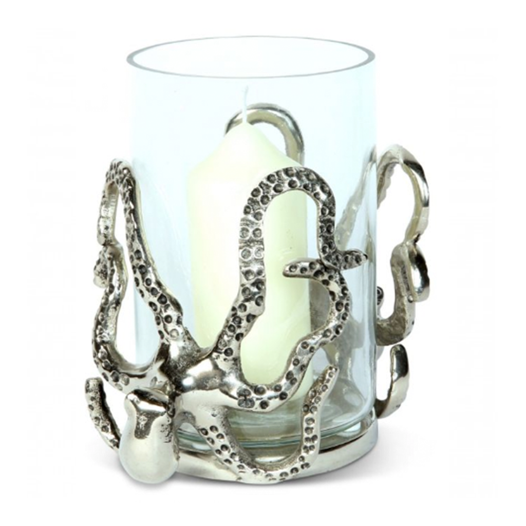 Culinary Concept Small Octopus Candle Holder Tides Home And Garden