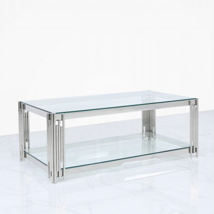 Metal Bar Coffee Table
