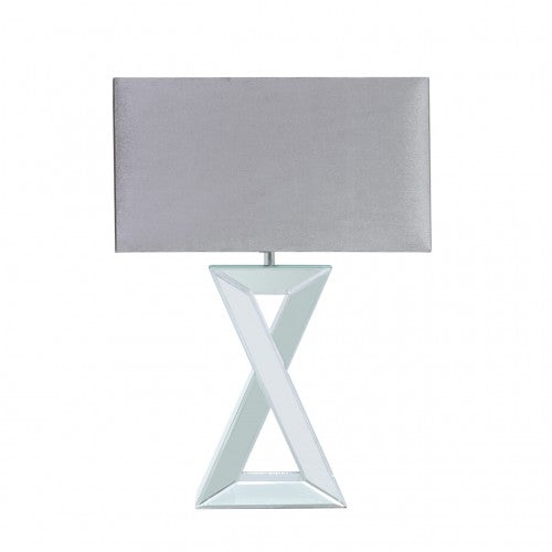 X Shape Mirror Table Lamp