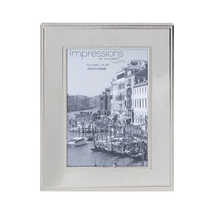 Nickel Plated Steel Photo Frame