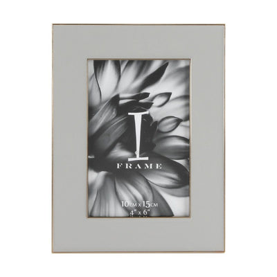 Soft Grey Photo Frame