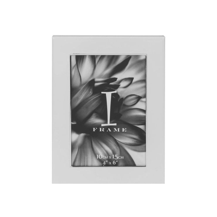 Metal Edge White Photo Frame
