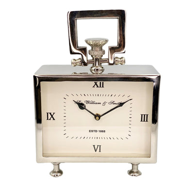 Square Small William Mantel Clock