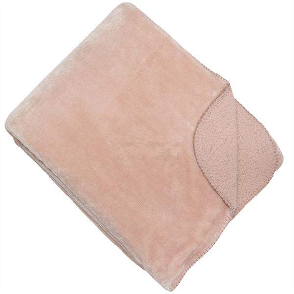 Pale Pink Cosy Throw