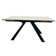 Vienna Marble Effect Extending Dining Table