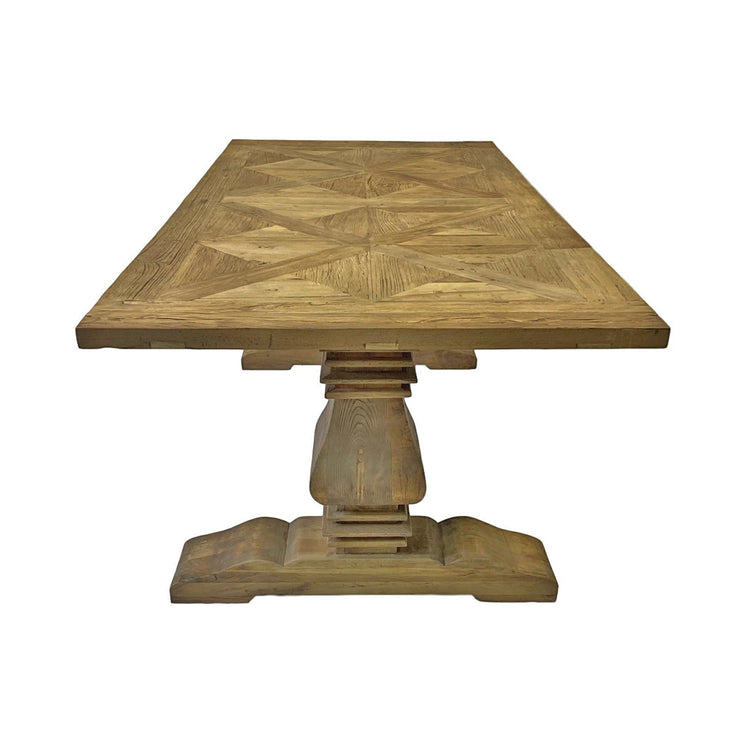 Fulham Parquet Wooden Dining Table