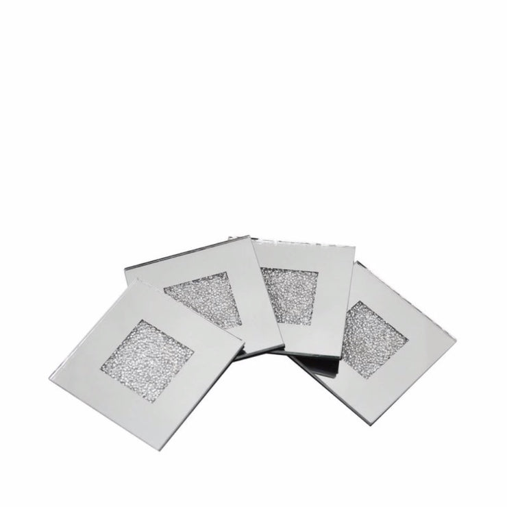 Set of 4 Crystal Coasters