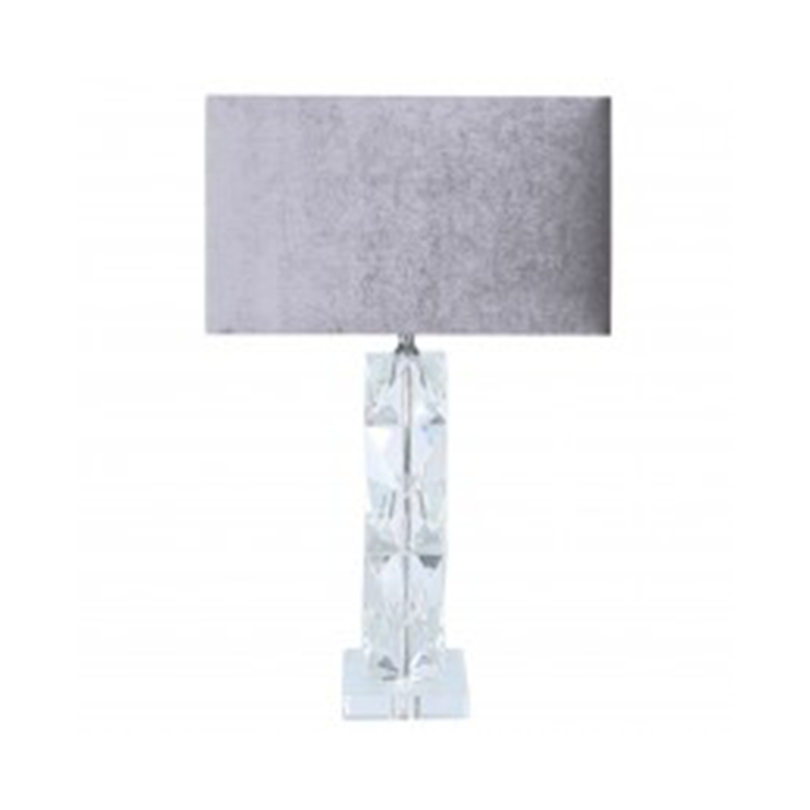 Crystal Twist Table Lamp