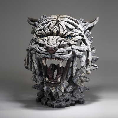 Tiger Bust Statue - Siberia