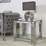 Metal Bar Side Table
