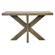 Havana Cross Leg Console Table