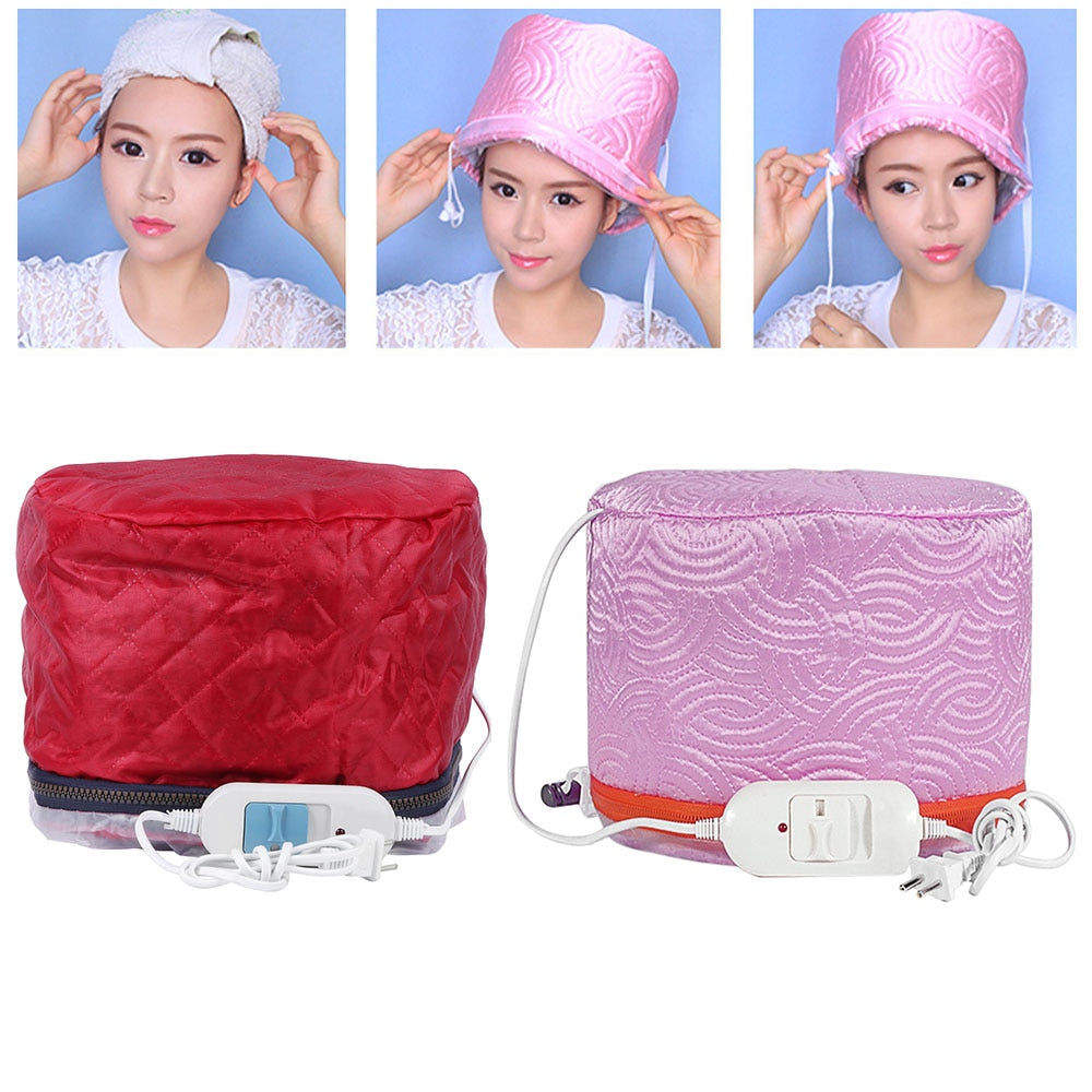Electric Hair Steamer Cap