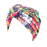 African Print Stretch Cotton Headband