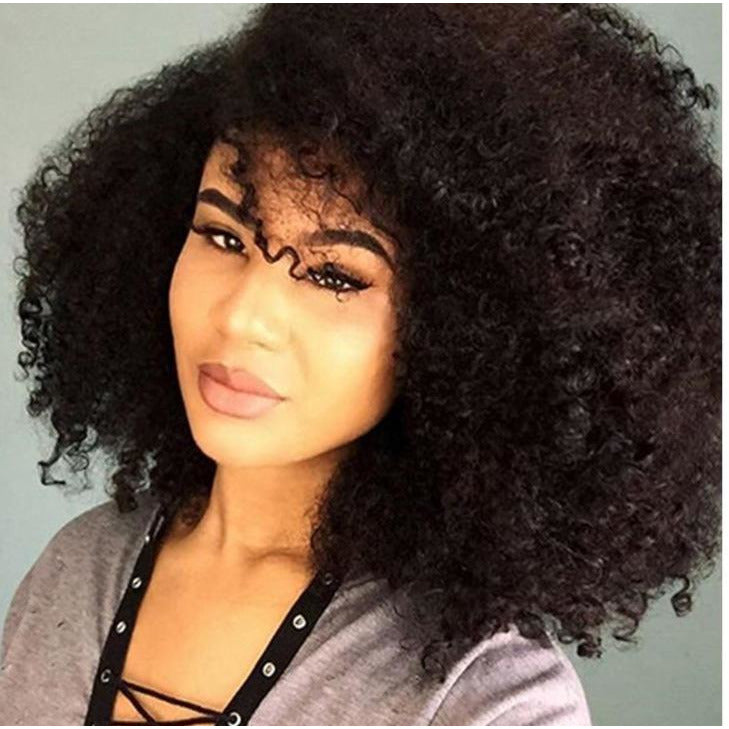 100% Human Kinky Curly Bulk Hair For Braiding