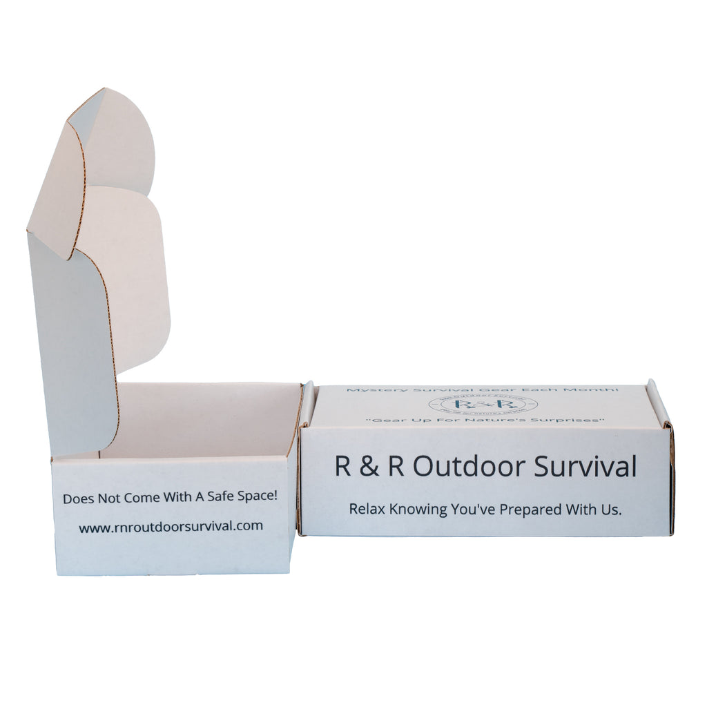 Mystery Survival Box | R & R Outdoor Survival - R & R Outdoor Survival