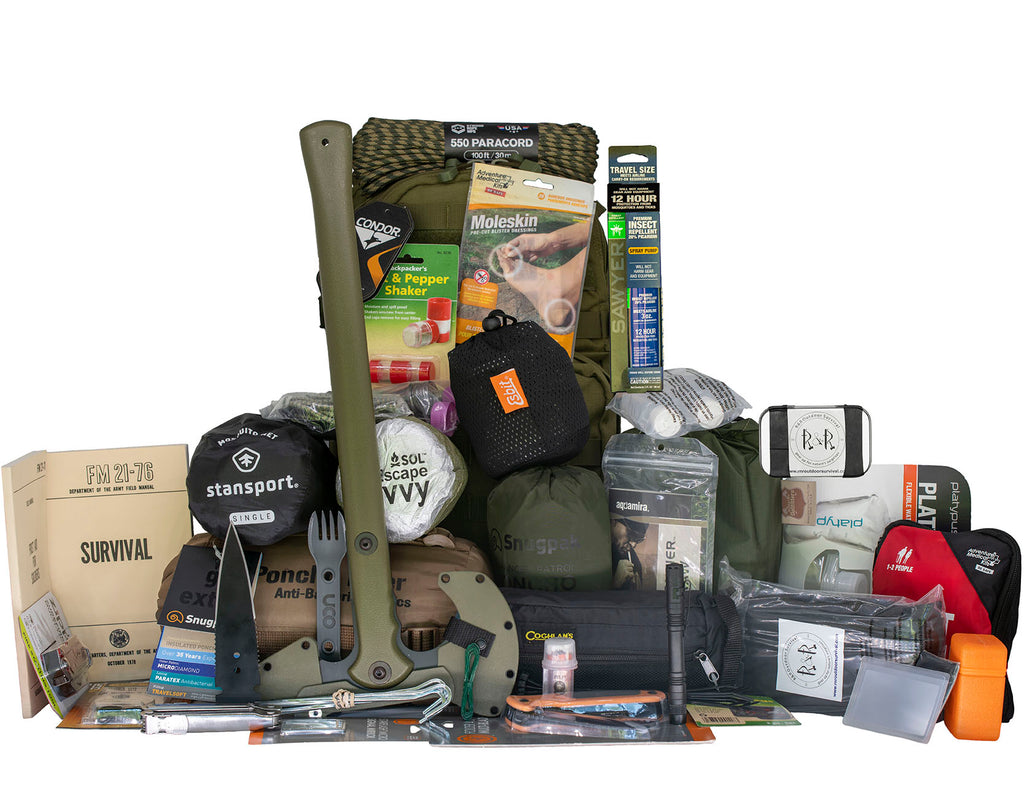 Bug Out Bag Backpack | R & R Outdoor Survival