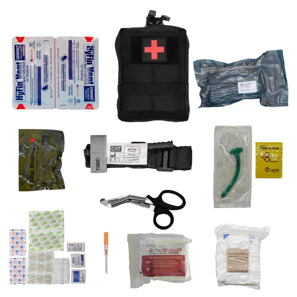 Tactical IFAK First Aid Kit | R & R Outdoor Survival - R & R Outdoor Survival