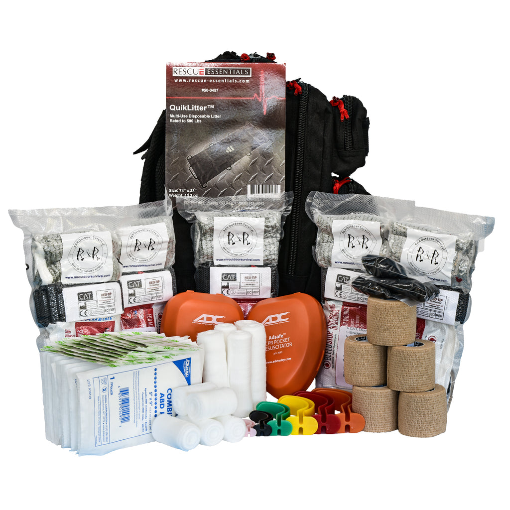 Active Shooter Kit Trauma Supplies | R & R Outdoor Survival - R & R Outdoor Survival