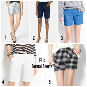Style Trend: Formal Shorts